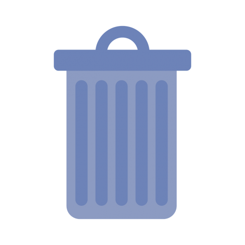 garbage bucket waste