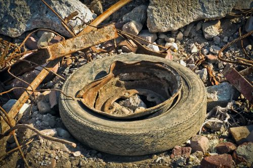 garbage debris waste