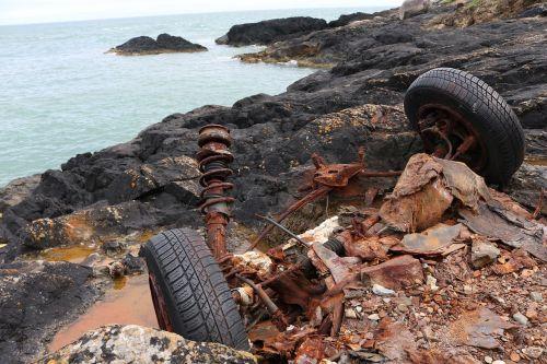 garbage scrap coast