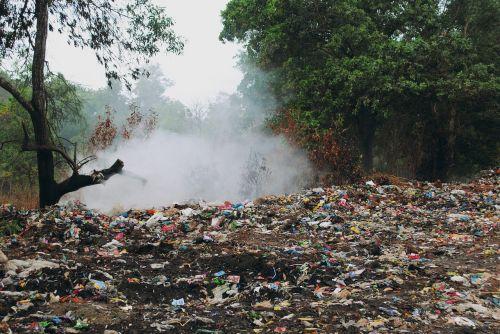 garbage stinky dump site