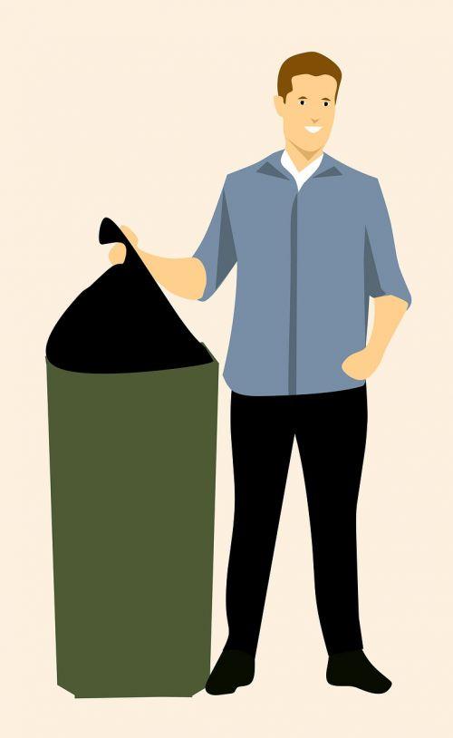 garbage guy idea