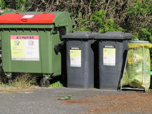 garbage waste separation disposal