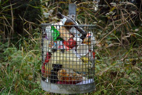 garbage waste basket disposal