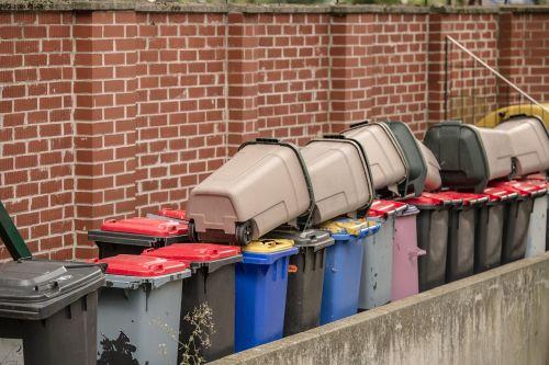 garbage waste separation mülltonnen
