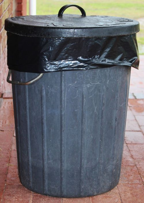garbage can waste dustbin