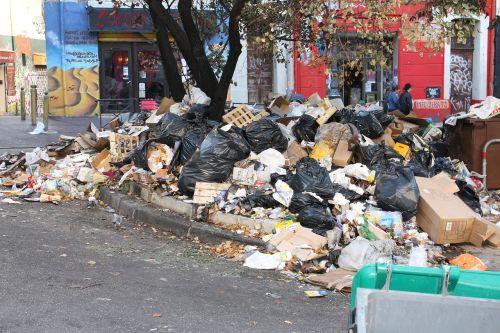 garbage heap waste garbage