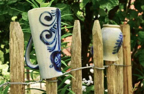 garden garden fence ceramic