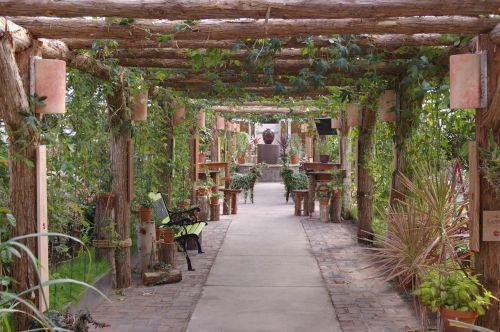 garden tranquil serene