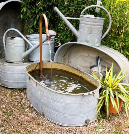 garden bath watering can