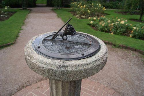 garden sun dial dial