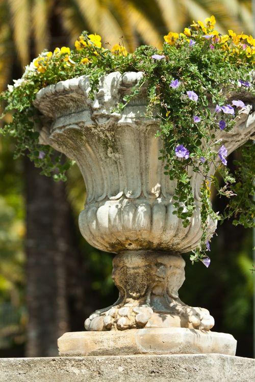 garden vase antique