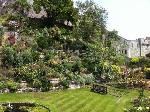 garden windsor castle castle