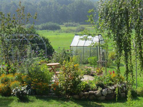 garden greenhouse allotment