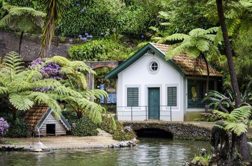 garden cottage pond