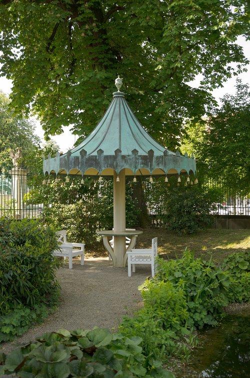 garden  residenzschloss  ludwigsburg germany