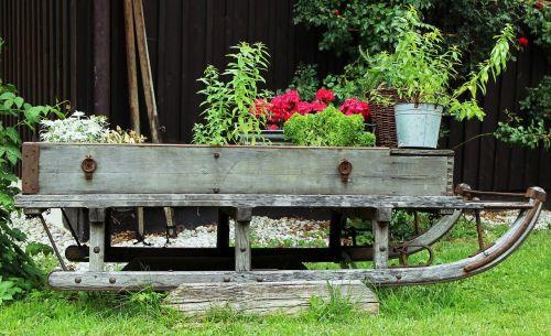 garden deco slide