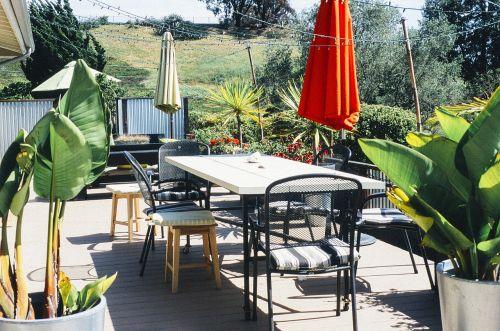 garden porch table furniture