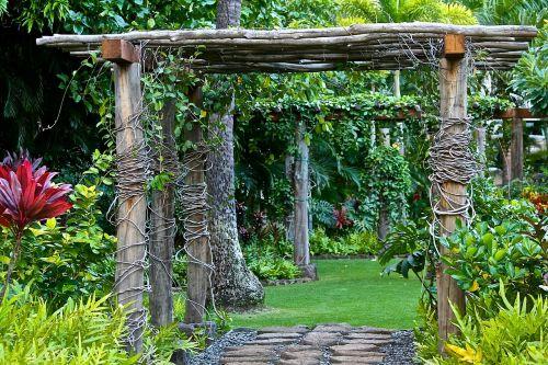 garden retreat relaxation
