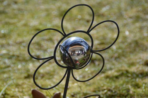 garden ball mirroring