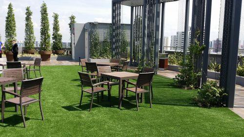 garden rooftop outdoors
