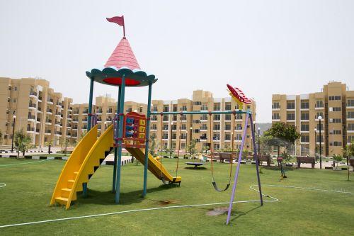 garden play area slide
