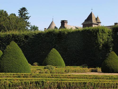 garden french castle