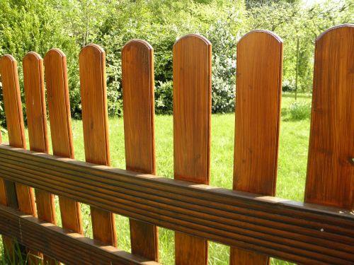 garden fence fence wood fence