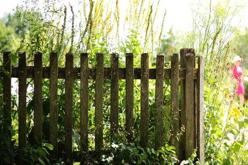 garden fence  fence  cottage garden