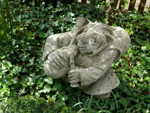 garden figurines decoration rock carving