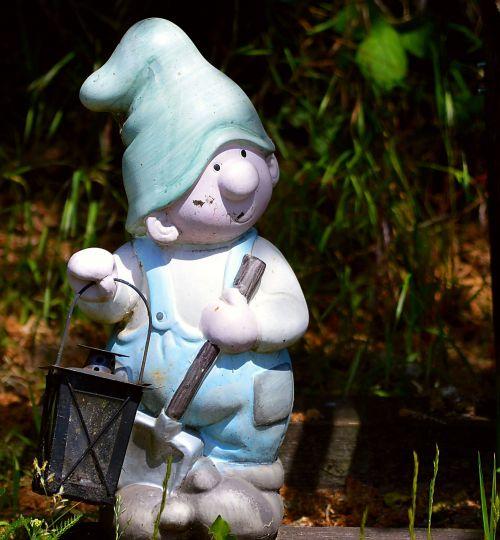 garden gnome cap figure