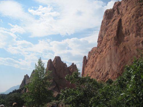 garden of the gods mountain colorado