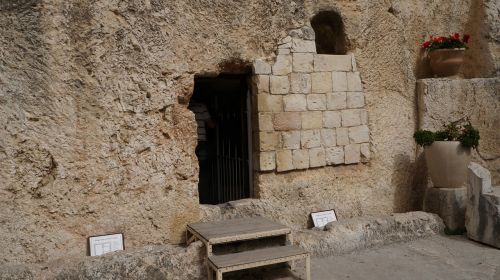 garden of the tomb jerusalem resurrection