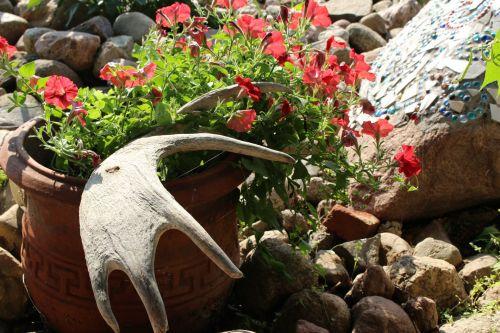 Garden Ornaments Moose Antlers