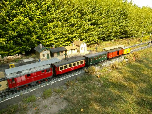 garden railway narrow gauge diesel locomotive