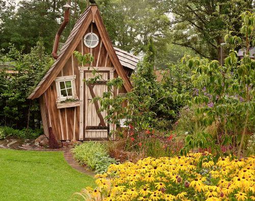 garden shed garden allotment