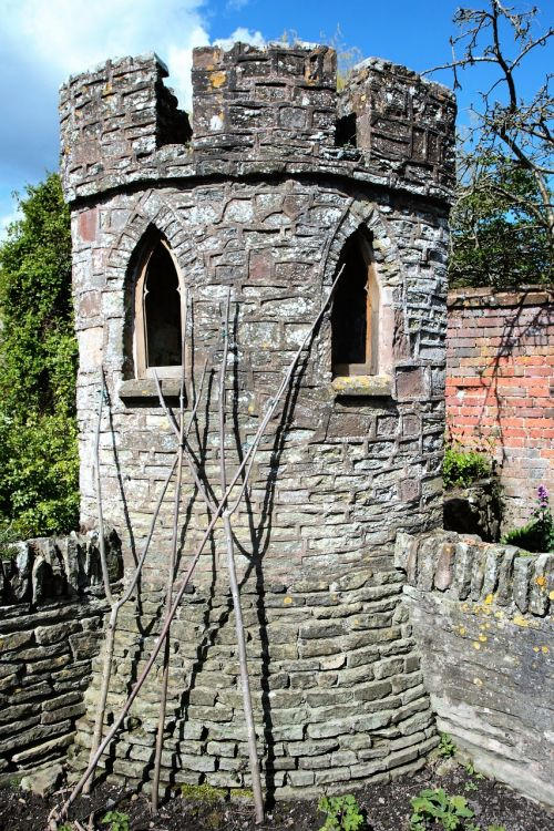 garden turret castle tower tower