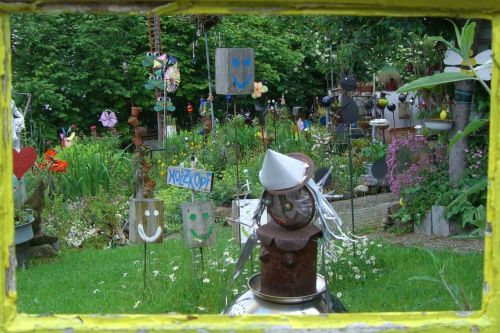 garden view garden window sculpture