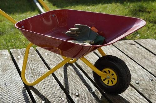 gardening children toys wheelbarrow