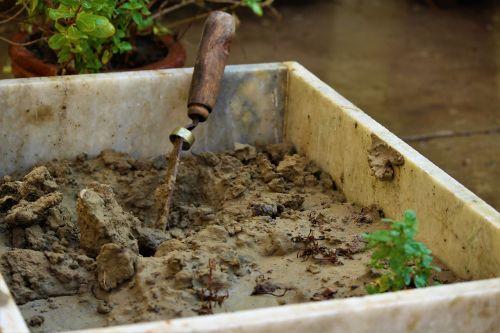 gardening soil dirt