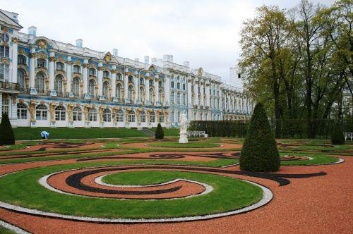 Gardens At Tsarskoe Selo