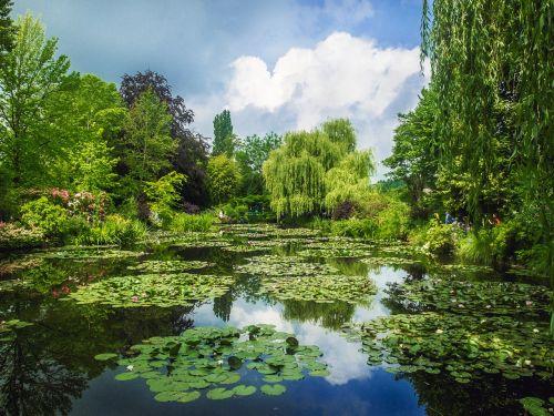 gardens monet giverny gardens