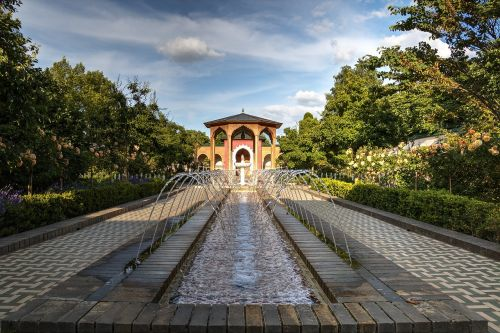 gardens of the world water games berlin