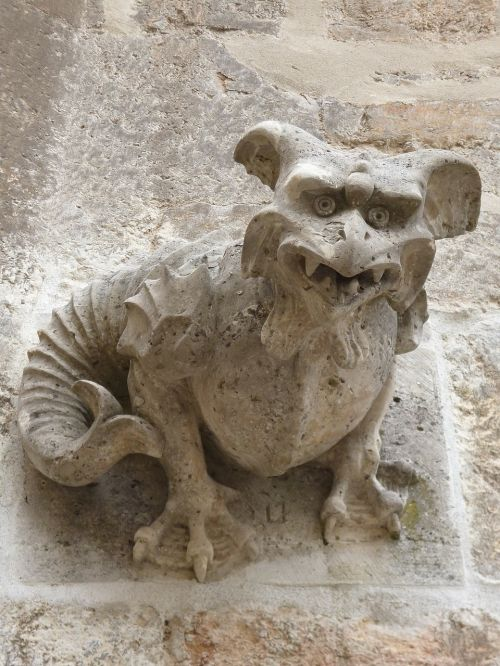 gargoyle middle ages mythical creatures