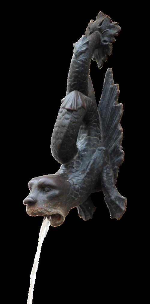 gargoyle bronze head