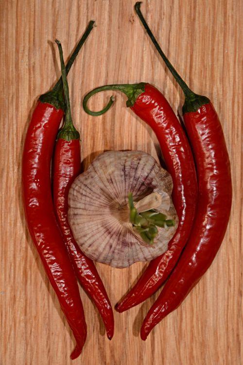 garlic chilli pepper