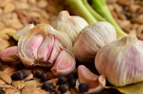 garlic tubers food
