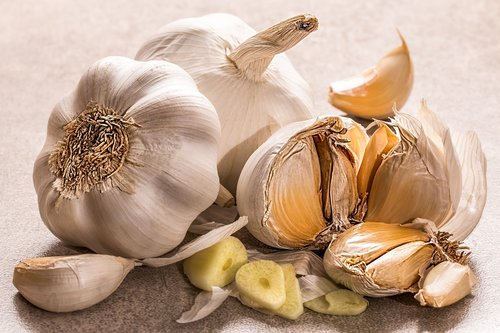 garlic  flavoring  food seasoning