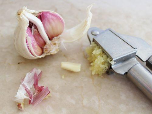 garlic garlic press spice