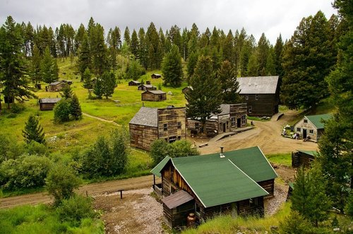 garnet ghost town montana  abandoned  old