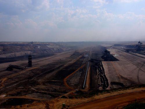 garzweiler brown coal mining